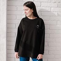 Джемпер женский, цвет чёрный, размер 50