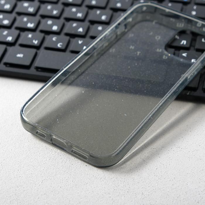 Чехол Activ SC123, для Apple iPhone 12/12 Pro, силиконовый, чёрный - фото 3