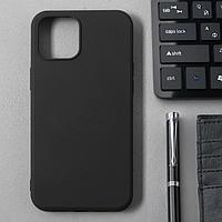 Чехол Activ Full Original Design, для Apple iPhone 12 Pro Max, силиконовый, чёрный