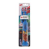 Электрическая зубная щетка Longa Vita Angry Birds KAB-1, вибрац., насадка, от 3 лет, МИКС