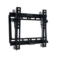 Кронштейн Rexant 38-0320, для ТВ, наклонный, 17-42', 26 мм от стены, чёрный