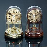 Часы настольные с маятником 'Эстет', 13.5х8.5 см, микс