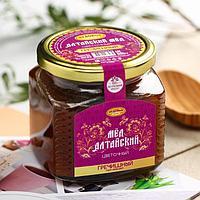 Мёд алтайский гречишный, натуральный цветочный, 500 г