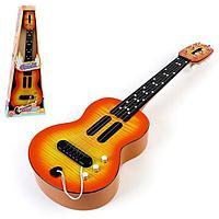 Музыкальная игрушка-гитара 'Cтиль', звуковые эффекты, цвета МИКС