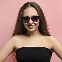 Очки солнцезащитные женские 'Боракай', uv 400, 14.8х3х5.3 см, линза 5.2х6 см