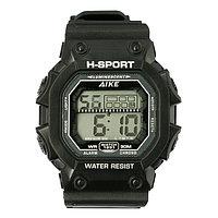 Часы наручные электронные 'Дастин', спортивные, влагозащищенные