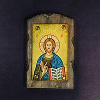Икона над дверью под старину 'Господь Вседержитель'