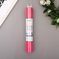 Клеевой винил American Crafts 'Dark Pink' 30.5х120 см