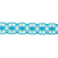 Тесьма плетёная сине-белый намотка по 20 метров