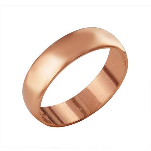 Кольцо 'Обручальное', позолота, 17 размер