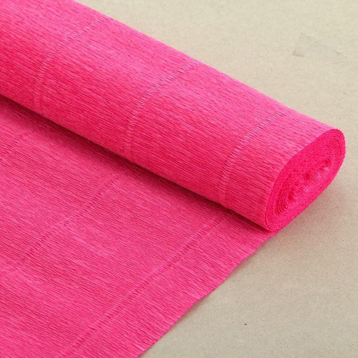 Бумага гофрированная, 550 'Антично-розовая', 0,5 х 2,5 м - фото 2
