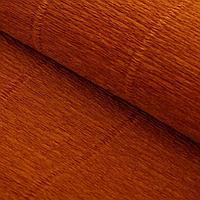 Бумага гофрированная, 567 'Светло-коричневая', 0,5 х 2,5 м