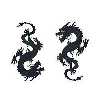 Термонаклейка 'Дракон', набор 10 шт.