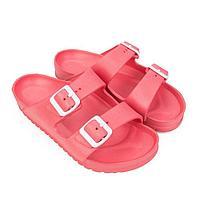 Сланцы женские пляжные, цвет розовый, размер 41