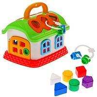 Развивающая игрушка 'Сказочный домик' с сортером