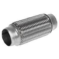 Гофра глушителя 45x160 мм, алюминизированная сталь