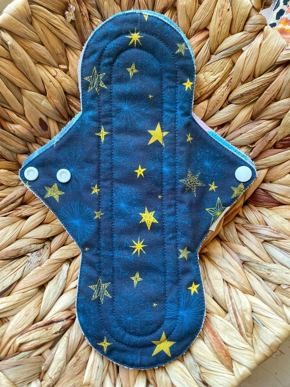 Многоразовая большая прокладка 26,5 см (5💧) - Ecorina