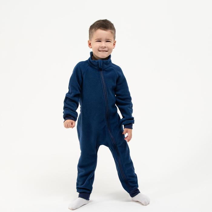 Комбинезон для мальчика, цвет чернильный, рост 74-80 см (22) - фото 1