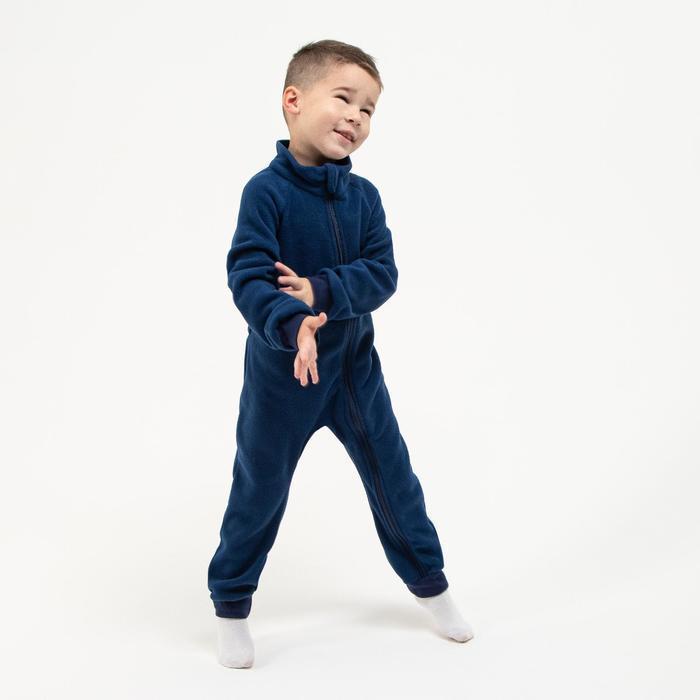 Комбинезон для мальчика, цвет чернильный, рост 74-80 см (22) - фото 2