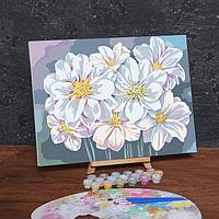Картина по номерам на холсте с подрамником 'Цветы', 40х30 см