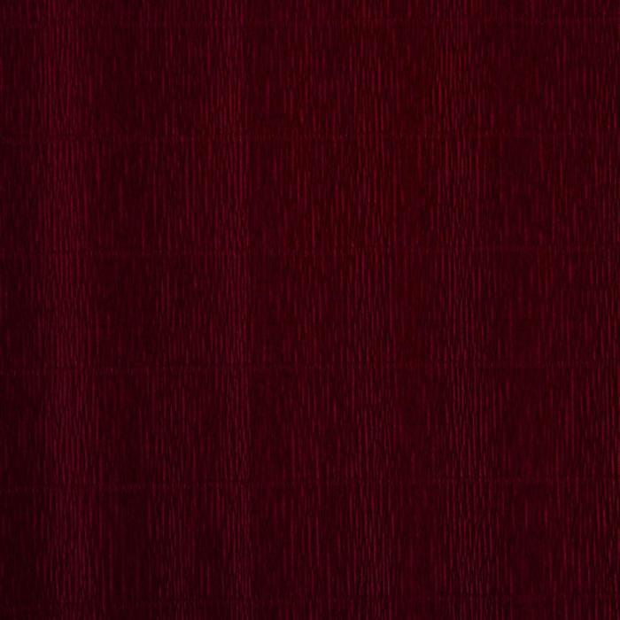 Бумага гофрированная, 588 'Бордовый красный', 0,5 х 2,5 м - фото 2