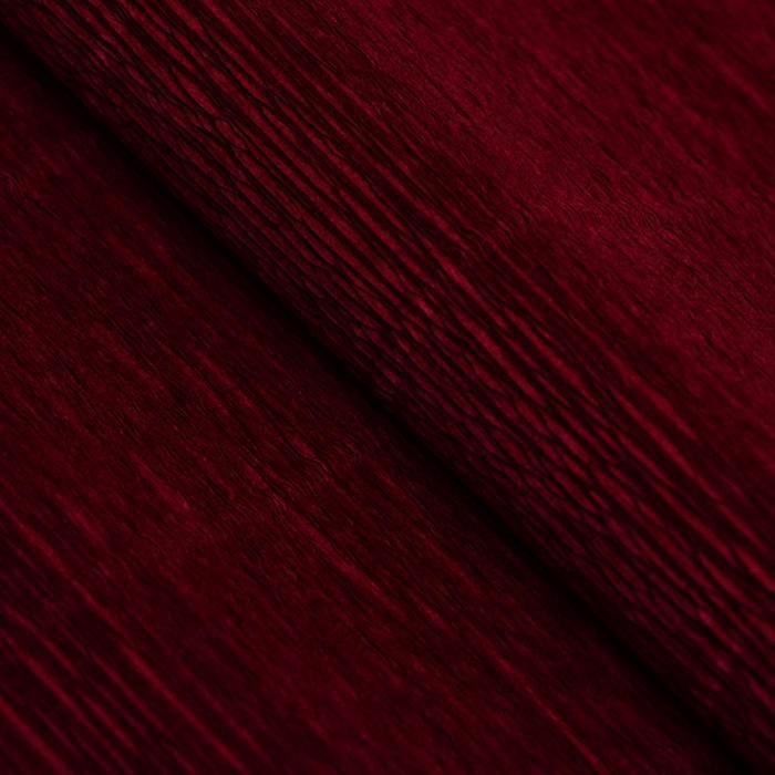 Бумага гофрированная, 588 'Бордовый красный', 0,5 х 2,5 м - фото 3