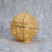 Фигура текстиль 'Шарик' 40 см, 40 LED, 220V