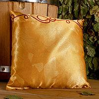 Подушка сувенирная, 22x22 см, лаванда, можевельник, микс