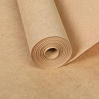 Бумага для рисования крафт, ширина 420 мм, в рулоне 20 метров