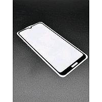 Защитное стекло Innovation 2D для Huawei Honor 8A/Y6(2019), полный клей, черное