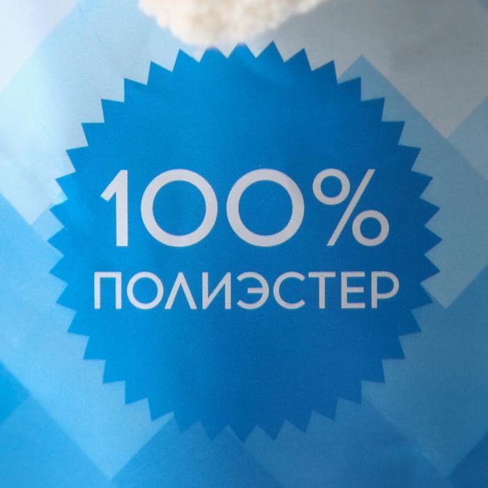 Пряжа фантазийная 100 полиэстер 'Softy plush maxi' 250 гр 22 м красный сольферино - фото 4