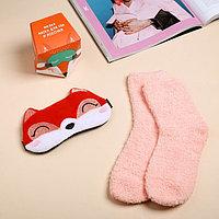 Набор 'Ярких снов' маска для сна, носки one size