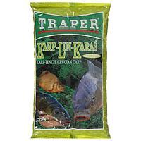 Прикормка Traper Карп-Линь-Карась, вес 1кг