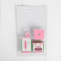 Мебель для кукол 'Кухня с холодильником'