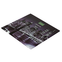 Весы напольные HOMESTAR HS-6001E, электронные, до 180 кг, картинка 'Город'