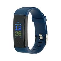 Фитнес-браслет LuazON LF-07, 0.96', цветной дисплей, пульсометр, оповещения, шагомер, синий