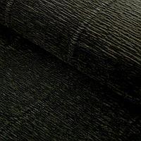 Бумага гофрированная, 602 'Чёрная', 0,5 х 2,5 м
