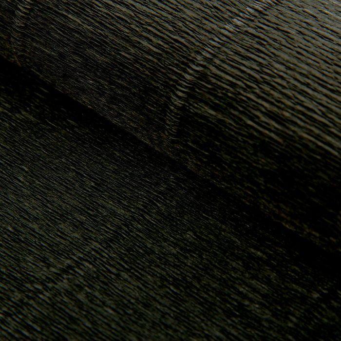 Бумага гофрированная, 602 'Чёрная', 0,5 х 2,5 м - фото 1