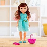 Кукла классическая 'Аня' в платье, с аксессуарами, МИКС