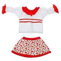 Одежда для кукол 38-43 см блуза с юбкой, МИКС