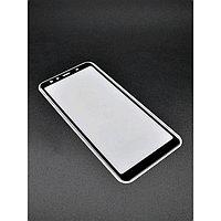 Защитное стекло Innovation 2D, для Samsung A7 (2018), полный клей, черное
