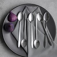 Набор ложек десертных Доляна 'Завтрак', 19 см, 6 шт