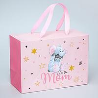 Пакет-коробка 'I love you Mom', Me To You, 20 x 28 x 13 см