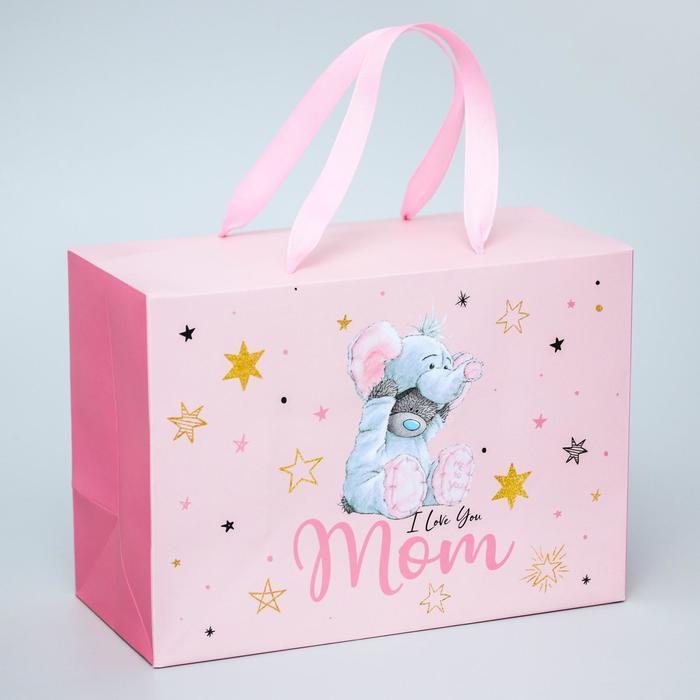Пакет-коробка 'I love you Mom', Me To You, 20 x 28 x 13 см - фото 1