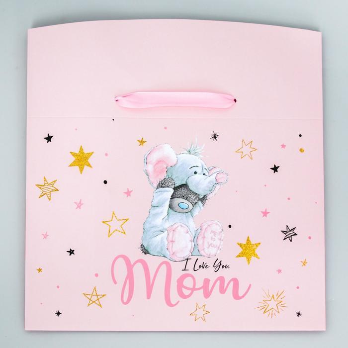Пакет-коробка 'I love you Mom', Me To You, 20 x 28 x 13 см - фото 2