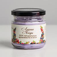 Натуральная эко свеча 'Лесные ягоды', 7х7,5 см, 14 ч