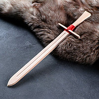 Сувенирное деревянное оружие 'Меч боевой', 50 см, массив бука