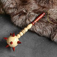 Сувенирное деревянное оружие 'Булава', 34 см, микс