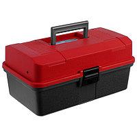 Ящик Helios двухполочный, цвет красный