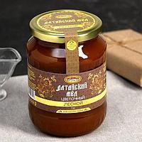 Мёд алтайский Лесной натуральный цветочный, 1000 г